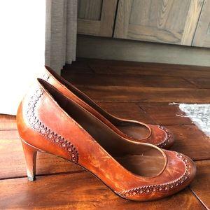 Cole Haan Brown Leather Heels
